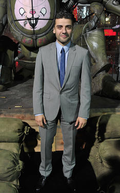 Oscar Isaac at the California premiere of &quot;Sucker Punch.&quot;